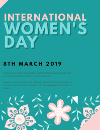 WOMEN'S DAY FLYER TEMPLATE