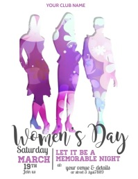 women's day flyers,event flyers,8th march Folder (US Letter) template