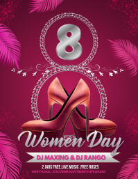 women's day flyers,event flyers
