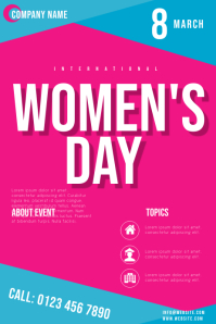 women's day flyers