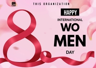 women's day flyers A3 template