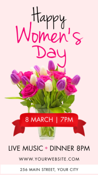 Women's Day Instagram Story Template Instagram-verhaal