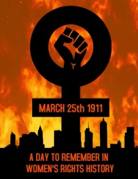 Women's day fire 1911 1975 history