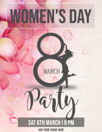 Women's Day Party Flyer
