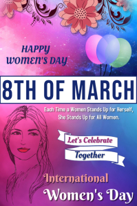 Women's Day Poster Template
