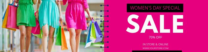 WOMEN'S DAY SALE Flyer Template