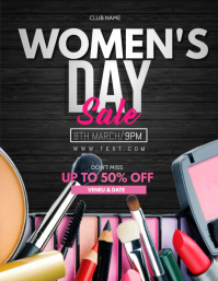 Women's day sale template,mothers day Flyer (US Letter)