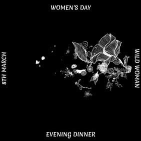 WOMEN'S DAY SOCIAL MEDIA POST TEMPLATE