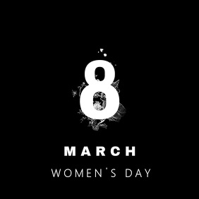 WOMEN'S DAY SOCIAL MEDIA POST TEMPLATE