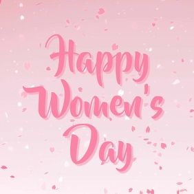 Women's day template