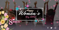 Women's Day wishes video template Facebook Ad