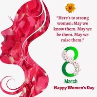 women's day1 Cuadrado (1:1) template
