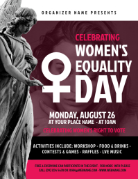 Women's Equality Day Flyer