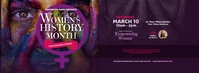 Women's History Month Facebook Cover Photo Facebook-coverfoto template