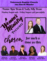 Women's Ministry Template