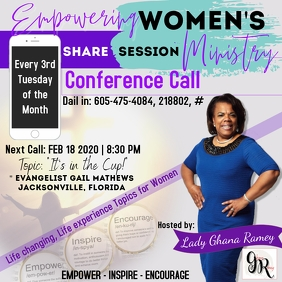 Women's Monthly Call