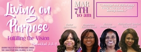 Women's Seminar Facebook-Cover template