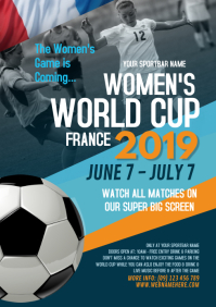 Women's World Cup Flyer Template - 02