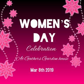 Women's day Publicação no Instagram template