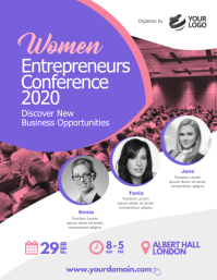 Women Business Conference Event Flyer