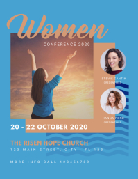 Women Conference Church Flyer