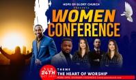 Women Conference Etiqueta template