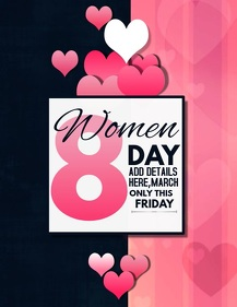 Women day flyer,event flyer