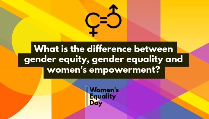 Women Equality Blog Header Template 博客标题
