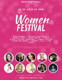 Women Festival Flyer Template