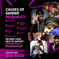 Women Gender Inequality Post Template Iphosti le-Instagram