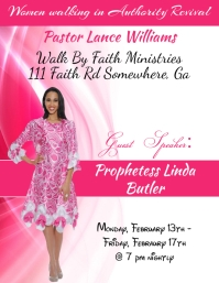 Women Revival Flyer