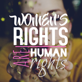 Women Rights Instagram Image
