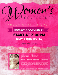 Women's Conference Flyer