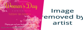 Women's Day Conference Facebook Cover Template