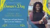 Women's Day Conference Promo Video Template Digital Display (16:9)