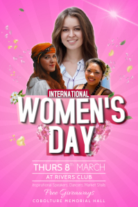 Women's Day Event Poster Template