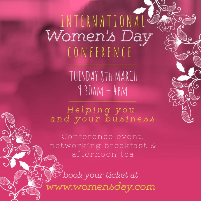 Women's Day Event Instagram Video Template