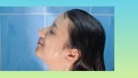 WOMEN SHOWER YouTube Thumbnail template
