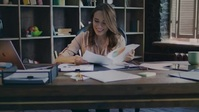 Women working in the office video YouTube Thumbnail template