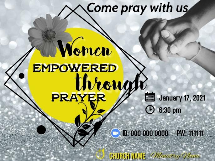 Womens' Empowered through Prayer Presentation template