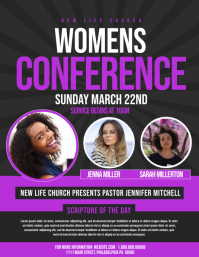 womens conference Volante (Carta US) template