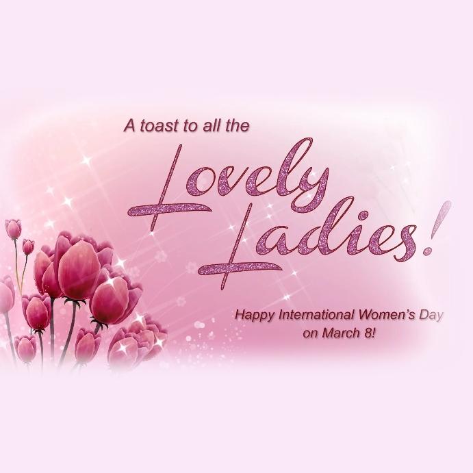 womens day, International womens day template