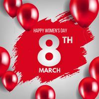 womens day,mothers day Publicación de Instagram template