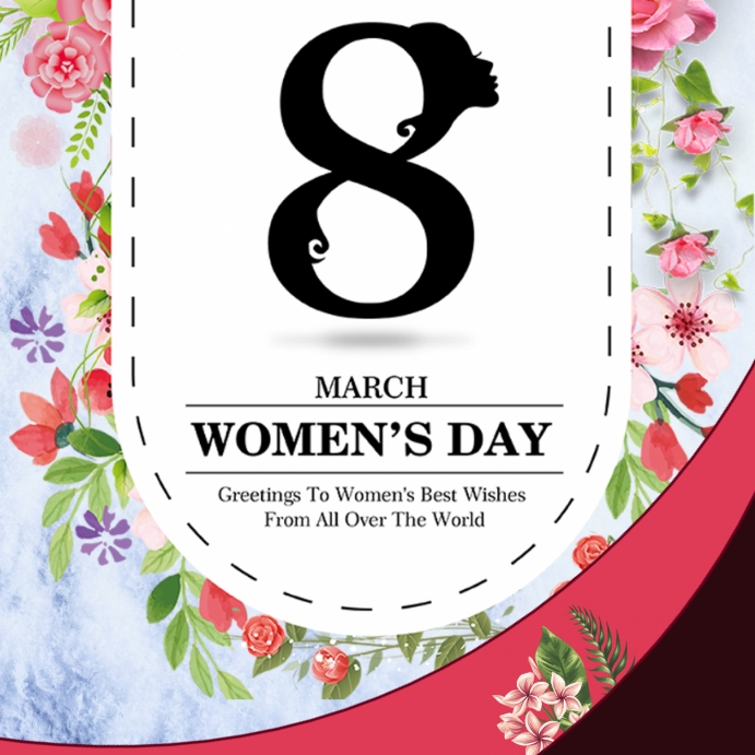 Womens Day Wpis na Instagrama template