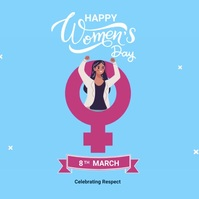 Womens Day Instagram 帖子 template
