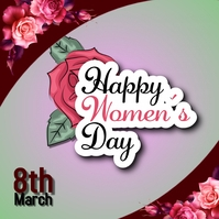Womens Day Pos Instagram template