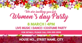 Womens day event cover template