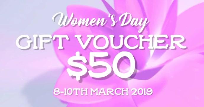 Womens Day gift voucher