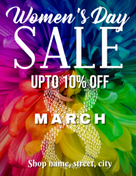 Womens day sale