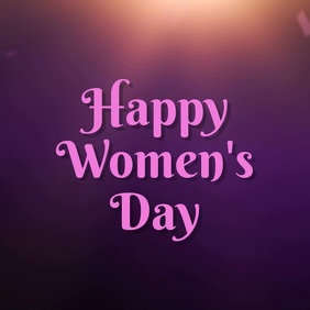 womens day template